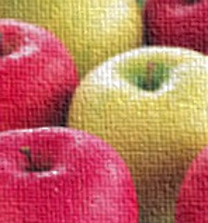 青リンゴと赤りんご